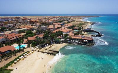 Edificio con en Cabo Verde.