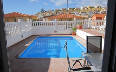 Arguineguin Villa con piscina privada.